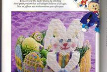 egg bunny basket