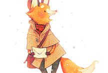 Лисы/Fox