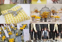 celebrate | yellow and grey