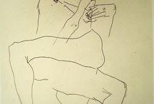 Schiele / Storia dell'Arte Pittura 20° sec. Egon Schiele  1890-1918