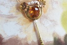 Citrine Finds / One of a kind estate, vintage & antique citrine jewelry from Jewelry Finds®!!!
