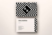Business Card Design / Awesome business card template designs for Photoshop and illustrator.