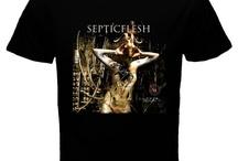 Septicflesh Band Black / Red T-shirt
