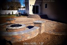 Cambridge Pavers - Outdoor Living - Long Island, N.Y - www.stonecreationsoflongisland.net / Based in Deer Park N.Y, Stone Creations of Long Island Inc. provides Masonry Home Improvements to customers throughout Long Island.   Stone Creations of Long Island Inc. offers a variety of services to fit all your home exterior needs. Stone Creations of Long Island is the only company you need to call. • Paving Stone Systems for Patios & Driveways • Outdoor Cooking, Entertainment Design & Installations • Complete Landscape Design & Services  / by Stone Creations of Long Island