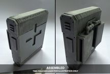Judge 2050 / COSplay 3D Print Armour Costume Prop replica concepts inspired by Judge Dredd 2012.