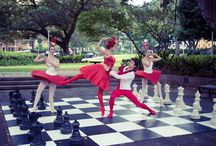 Alice's Adventures in Wonderland© announced / Among a flurry of chess pieces a Queen of Hearts with her Knave and Cards appeared in Sydney to announce that Christopher Wheeldon's Alice's Adventures in Wonderland© will go on sale from 9am on 8 December!