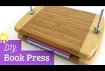 Bookbinding Ideas / Making and binding books