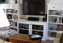 Basement Family Room Ideas / by Jacalyn Wiverstad
