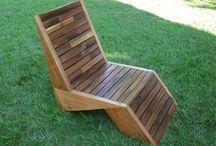 chaise jardin moderne