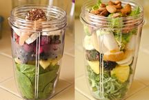 healthy snacks, smoothies, etc