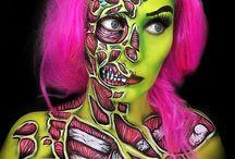 Helloween body art