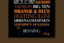 Can I get an ILL... / All things Fighting Illini / by Jessica Honness
