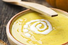 Autumn Soups / As the weather cools, it's time to keep warm