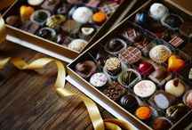 Christmas Chocolate Gifts / Australian made premium  handcrafted chocolates in beautiful packaging will make perfect gift http://www.lukachocolate.com.au/services/