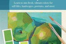 schilderen kleuren mixen