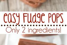 Popsicles, Ice Cream and Frozen Treats / Recipes for popsicles, ice cream, fudgesicles, protein popsicles and other frozen treats. A perfect board to pin for summer time snacks.