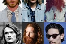 Men long hair