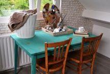 chalk paint home / home decoration