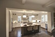 U Shape Kitchen With Island Window