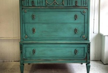 escrivaninha verde