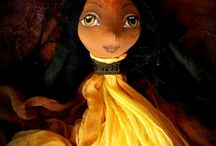 Art dolls - fairy and elfs / Here you will find art-dolls, fairies and elves from the studio Chami Peer. If you are interested in any you can write to me about it. Perhaps waiting just for you.