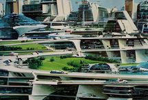 Futuristic architecture / Inspiration for the cities of our future