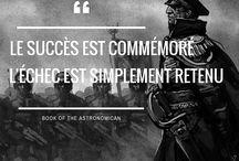 Citation Warhammer 40k