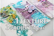 Papier, textil - aplikacie