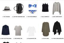 roupas pra viajar / travelling