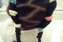Ella's hair