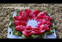 flor croche mamy
