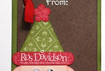 Stampin Up - Christmas Tags / by Becca Matlock
