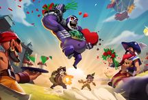 Raids of Glory holiday events / Raids of Glory updates honor often different updates. This board gathers graphical material and art form those updates.