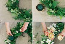 Floral krans ideas