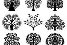 vectors/stencils