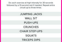 Exercise musings