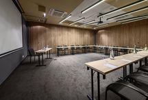 Conference facilities / 4 sale konferencyjne: CHOCOLATE, CAKE, COFFEE, COOKIE. Możliwość łączenia sal konferencyjnych / Każda sala o powierzchni 50m2 / Sala bankietowa o powierzchni 362m2. // 4 conference rooms: CHOCOLATE, CAKE, COFFEE, COOKIE. Possibility to connect conference rooms / Each conference room of 50m2 /Banqueting area of 362m2.