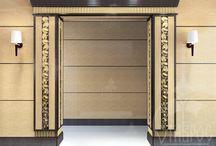 DOOR PORTALS / ДВЕРНЫЕ ПОРТАЛЫ / Резные дверные порталы оформленные декором от компании Ставрос