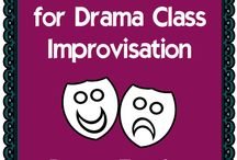 Theatre Arts / This board is for drama teachers, and K12 teachers who seek to integrate drama into their lessons.