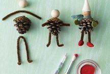 çam kozalakları pine cone crafts