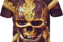 Pirates Of The Caribbean, Dead Men Tell No Tales - BROWN SKULL COLLECTION..