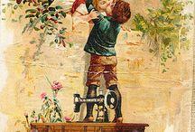 Дети / Картинки для декупажа