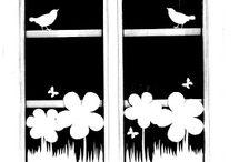 Okno - wiosna