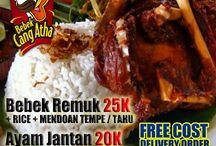 Bebek Cang Atha / Indonesian Food