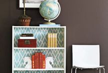 Basement renovation ideas / Looking at fabric wall treatment options