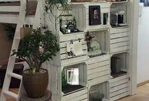 bútor, lakás-kert