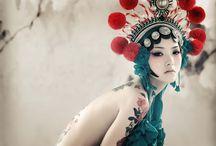Makijaż chiński