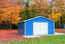 Storage/Utility Sheds / Carport covers, utility sheds, rv covers, loafing sheds, agricultural buildings, barns, garages, warehouses, arenas, lean toos.
