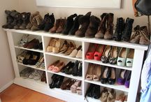Shoes storage
