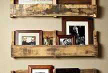 Rustic Furniture & Shelves